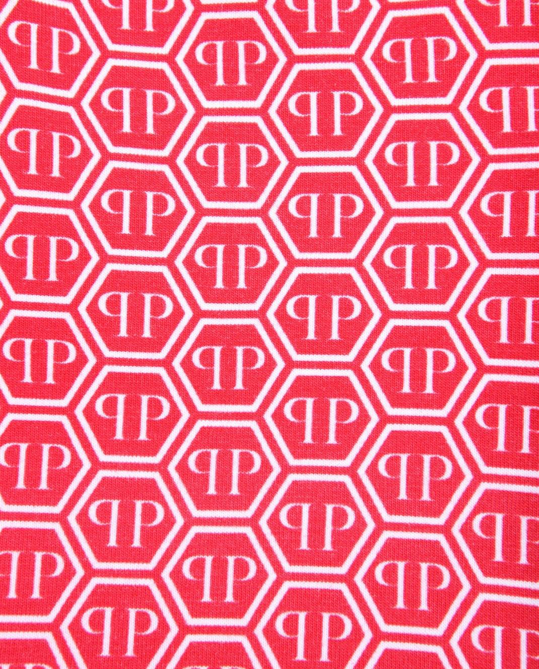 Philipp Plein Детские красные шорты изображение 3