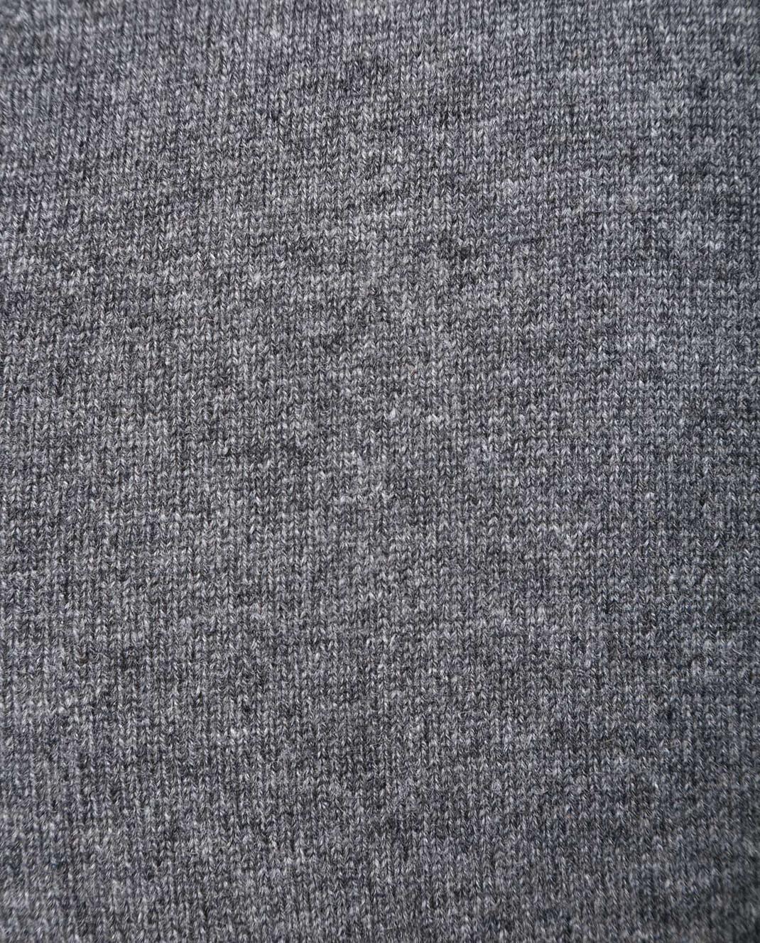 Johnstons Серый пуловер из кашемира KAL03406 изображение 5