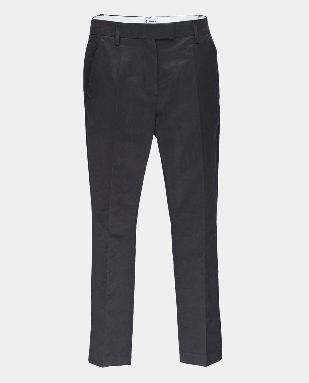 Dondup Черные брюки изображение 1