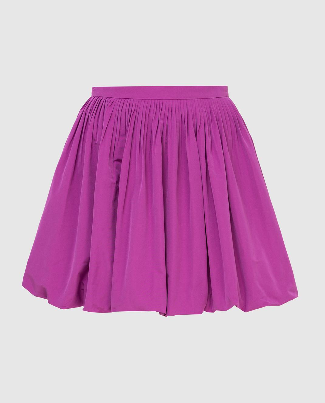 Valentino Сиреневая юбка изображение 1