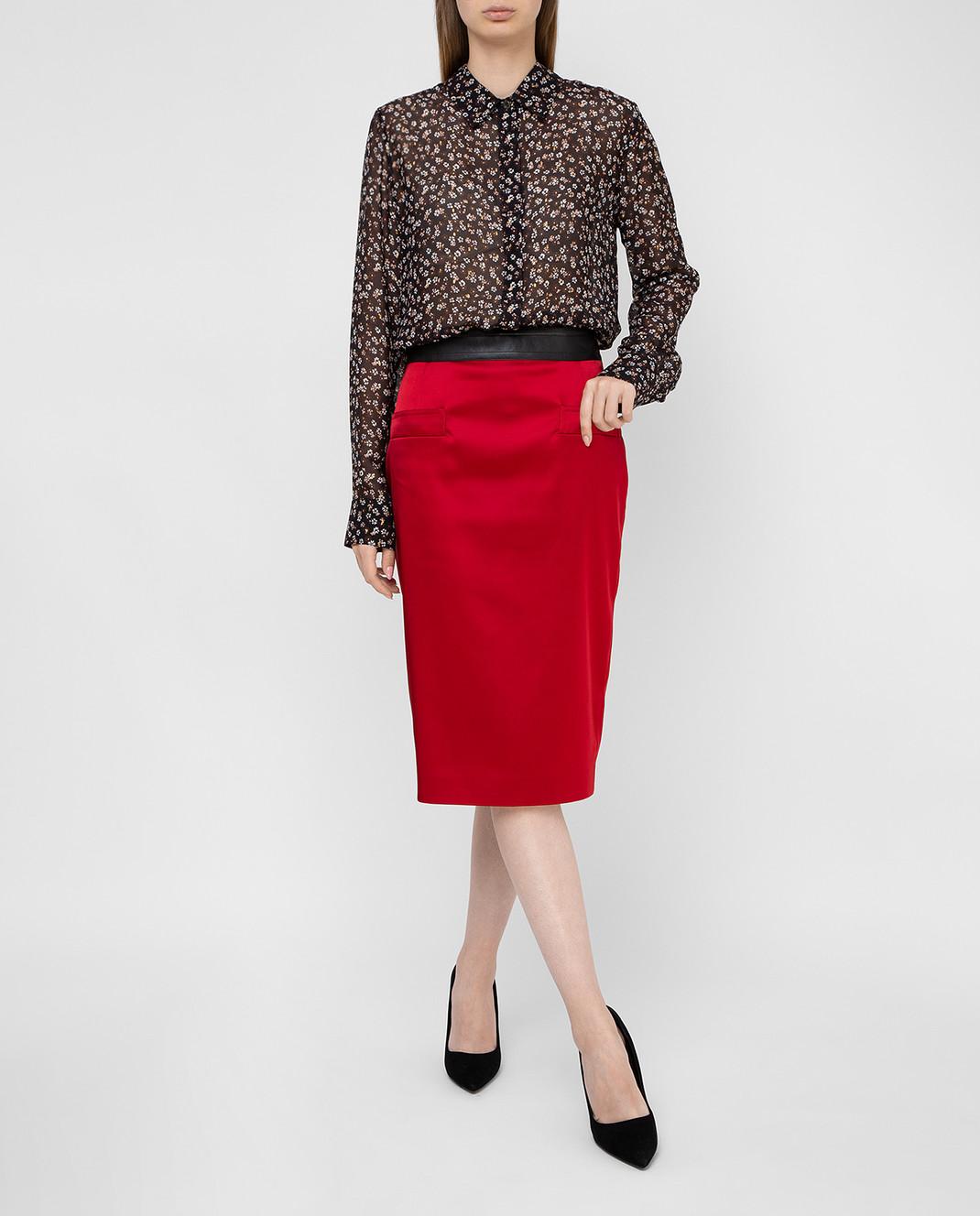 Altuzarra Черная блуза из шелка 418414848 изображение 2
