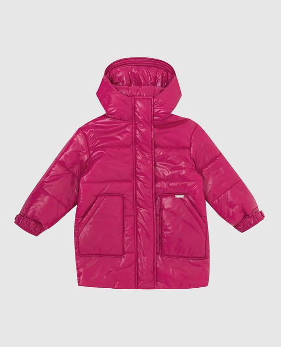 Детская розовая куртка