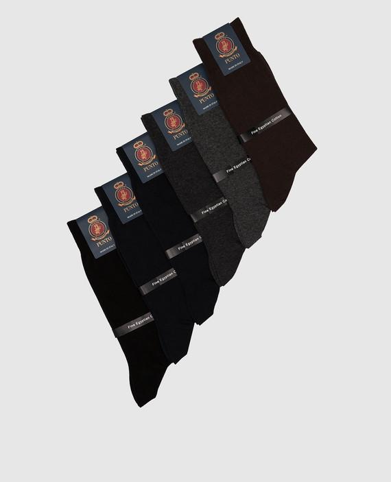 Набор из черных носков