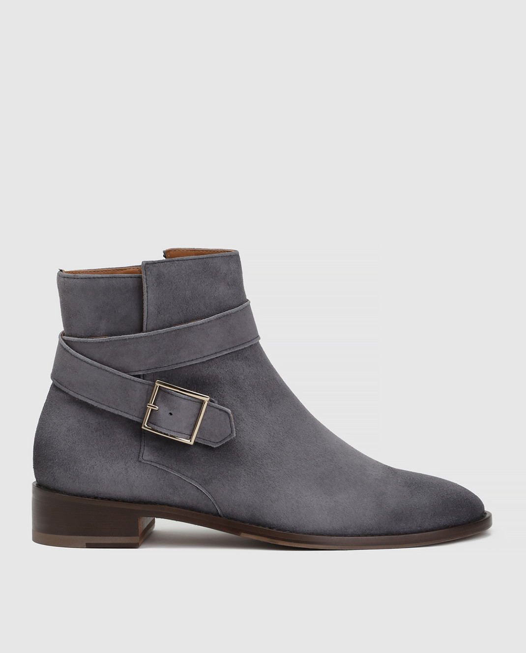 Doucal's Серые замшевые ботинки DD8252PATCUF083