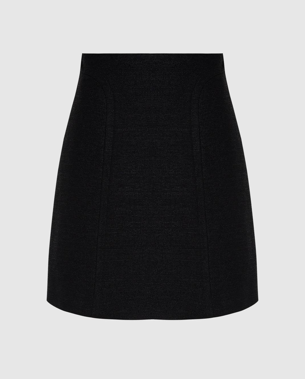 Azzedine Alaia Черная юбка изображение 1