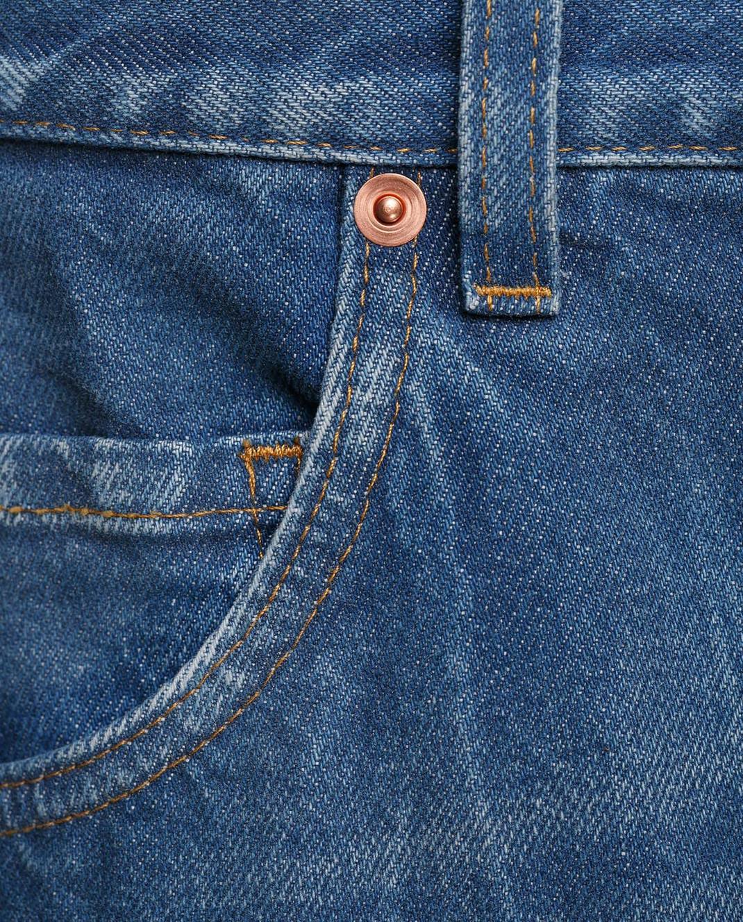 Gucci Синие джинсы 475273 изображение 5