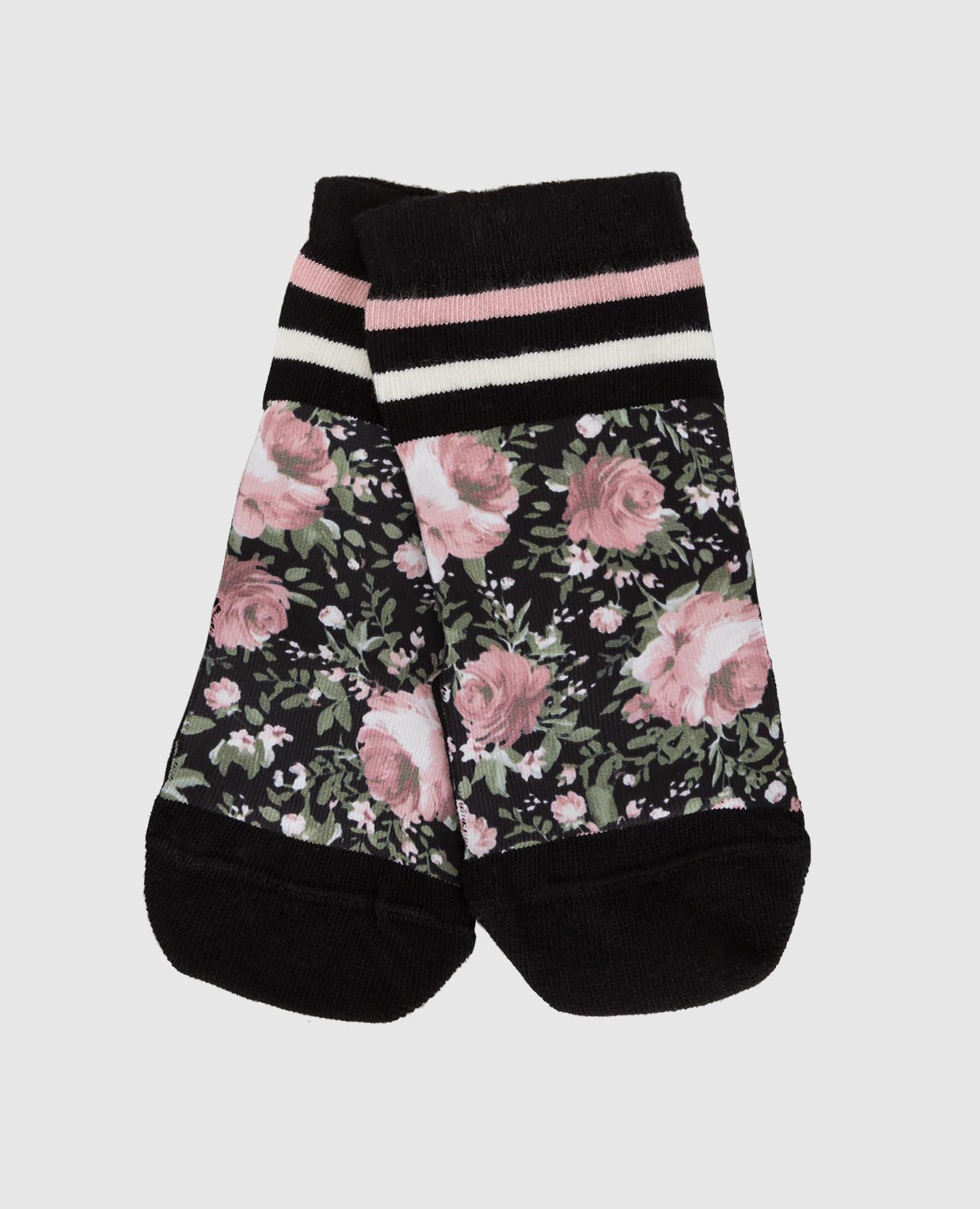 Детские черные носки