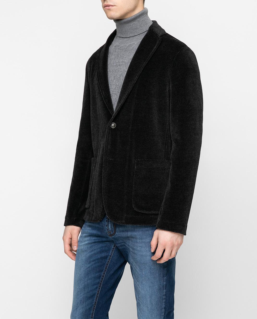 Fradi Серый пиджак 192POSTAGE6607 изображение 2