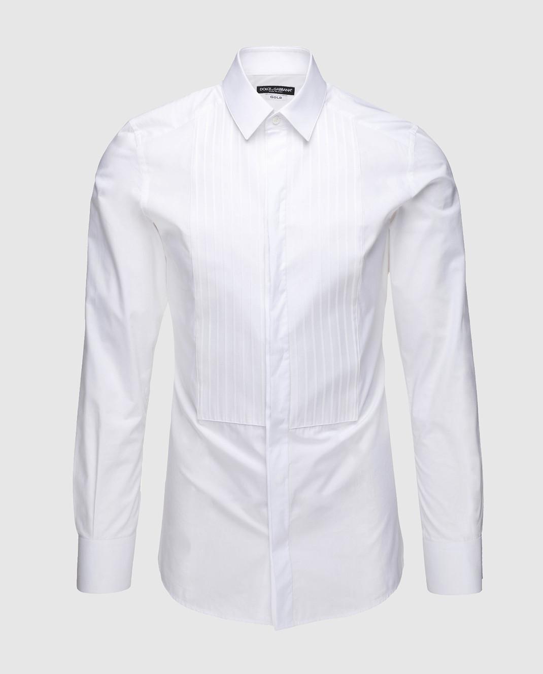 Dolce&Gabbana Белая рубашка G5FL5TGEC81