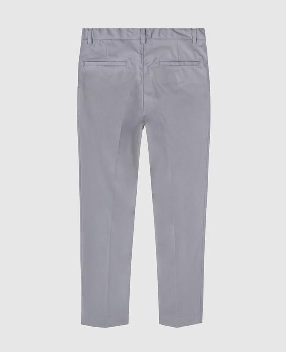 Детские серые брюки hover