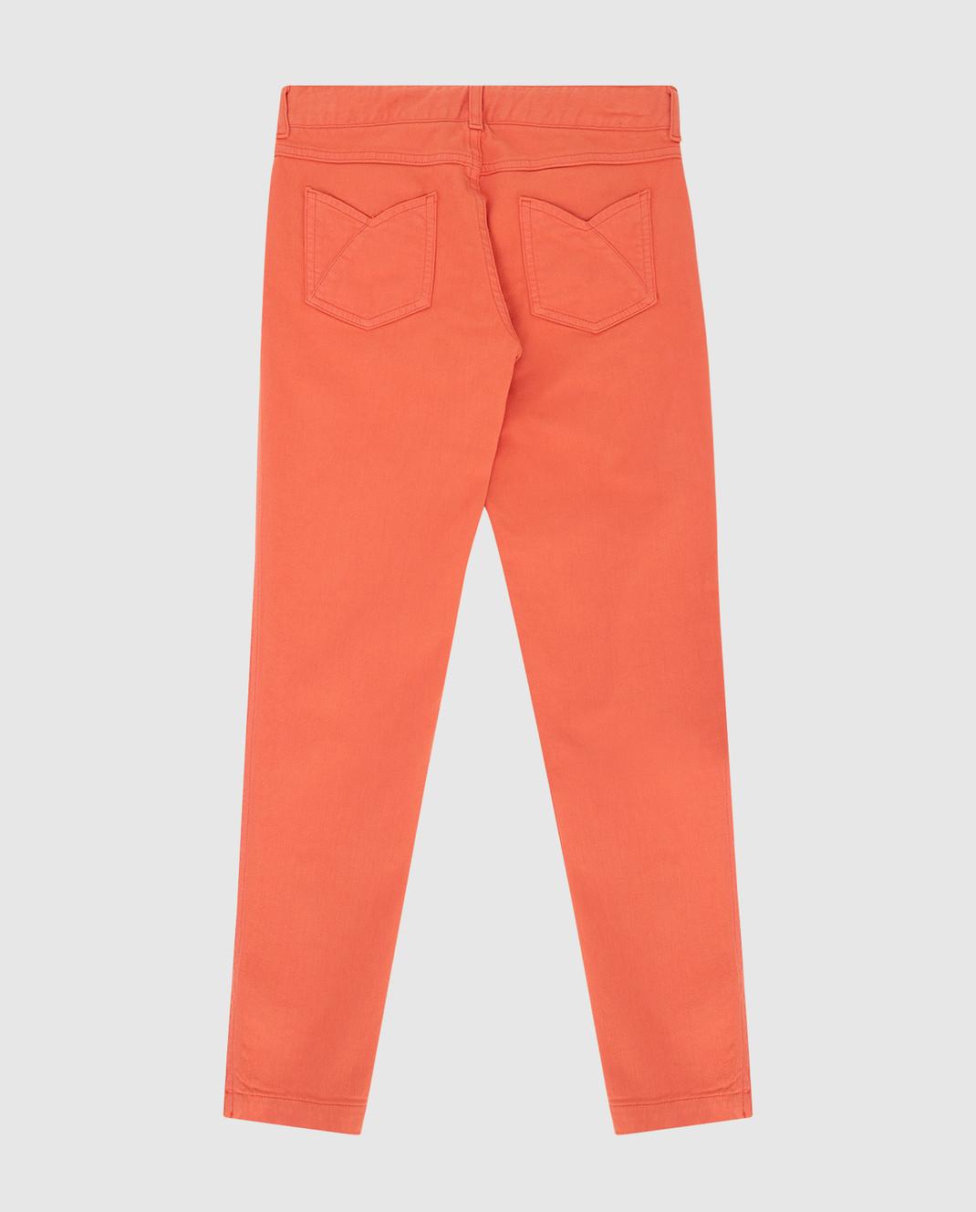 Loro Piana Детские коралловые джинсы F1FAG1897 изображение 2