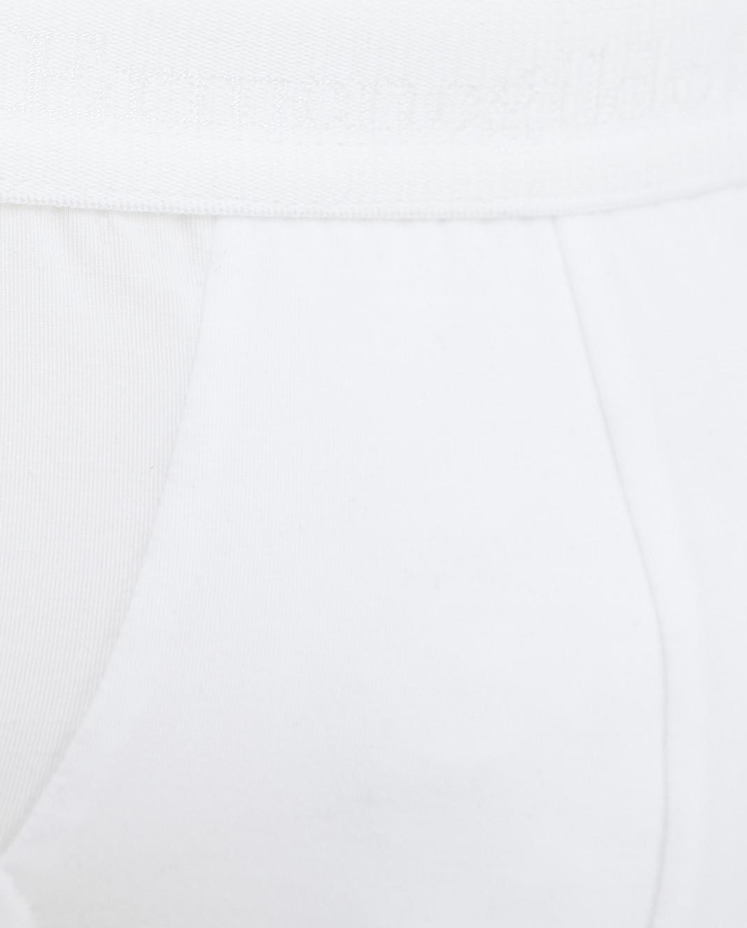 Ermenegildo Zegna Белые трусы изображение 3