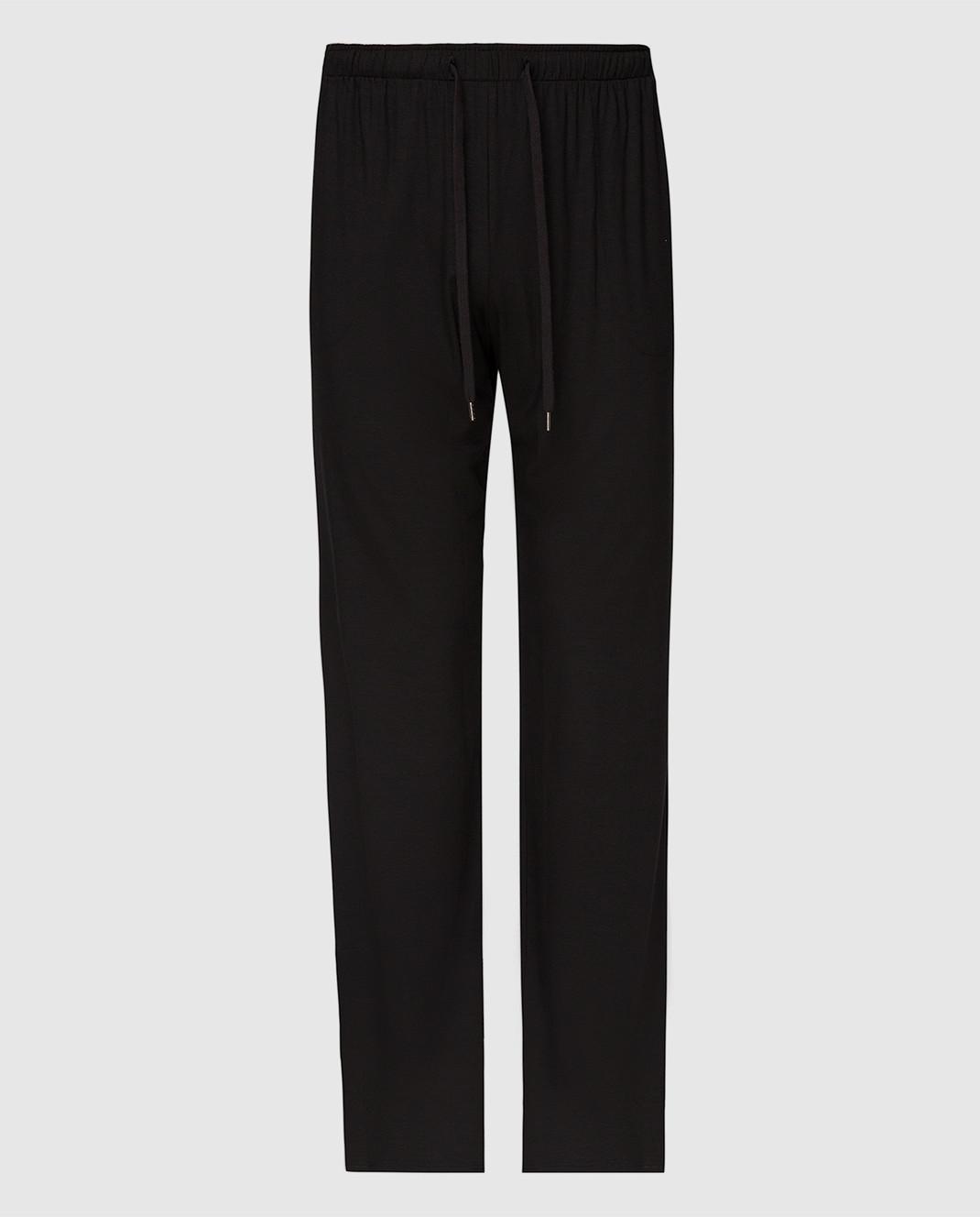 Derek Rose Черные брюки 3558BASE001
