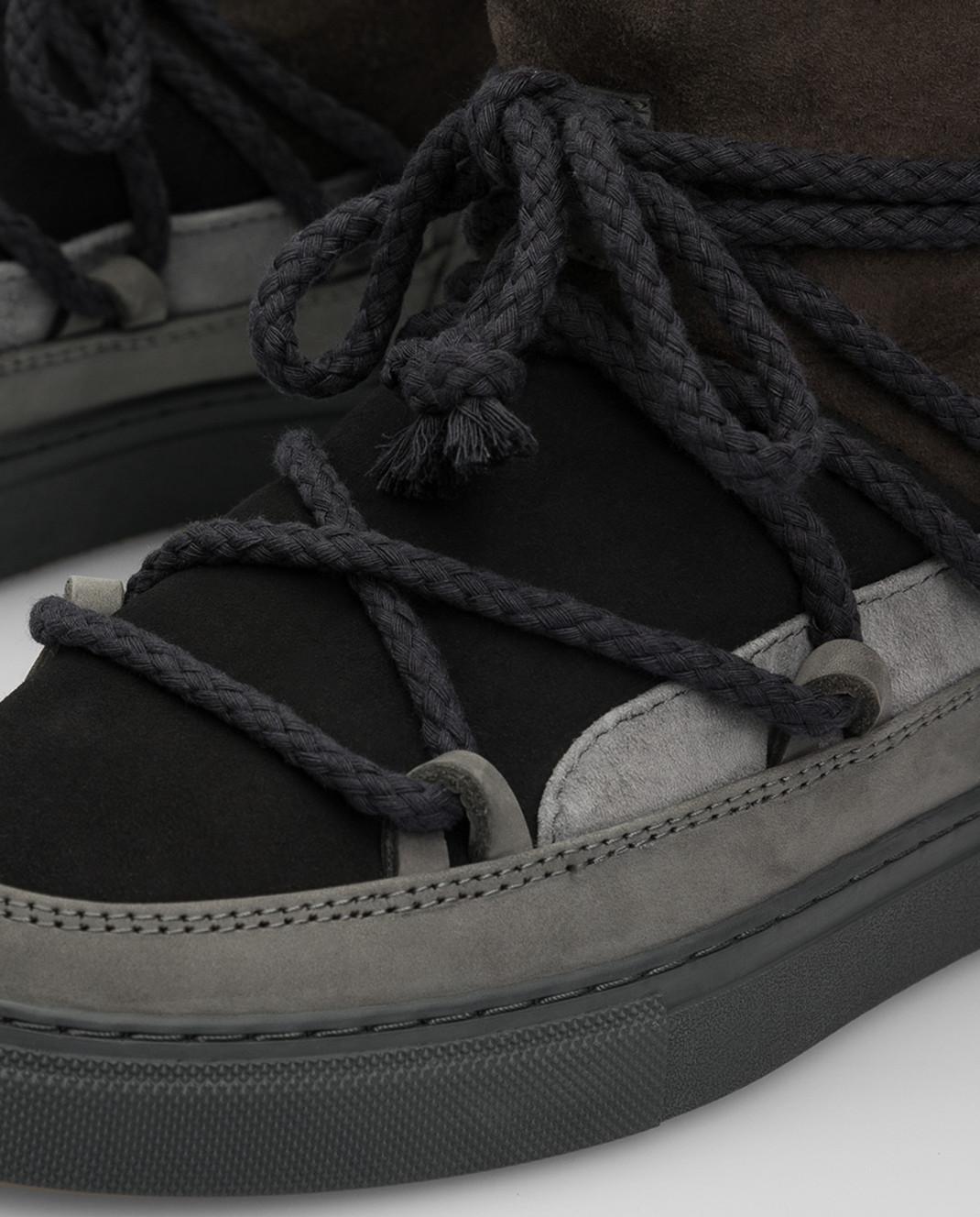 Inuikii Детские темно-серые ботинки на меху изображение 4