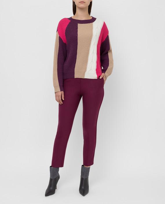 Фиолетовый свитер hover
