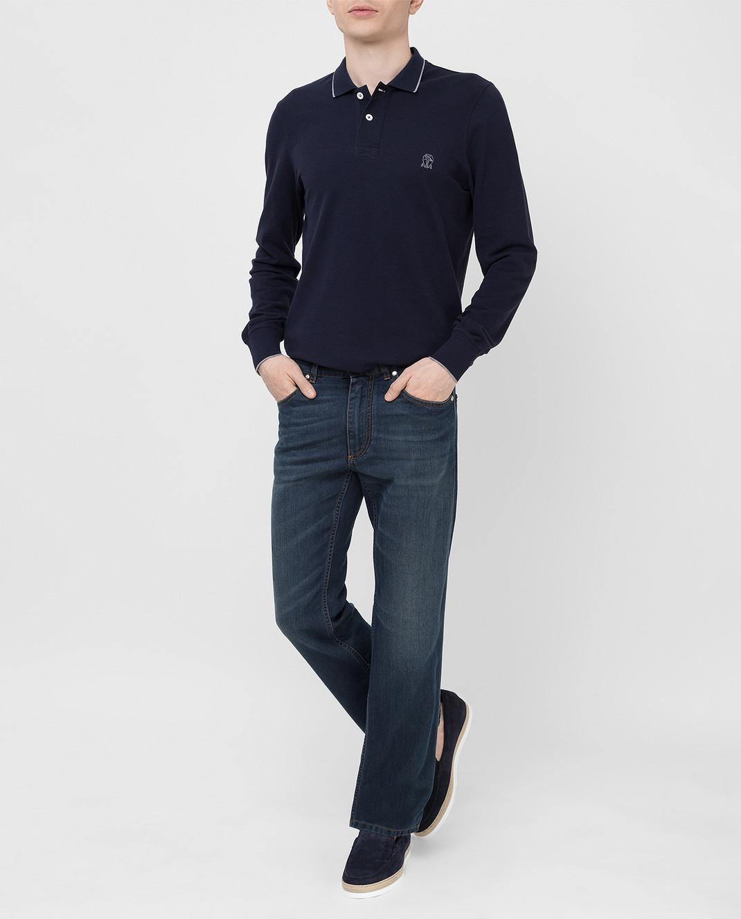 Ferutdin Zakirov Темно-синие джинсы FZA4900JN4000 изображение 2
