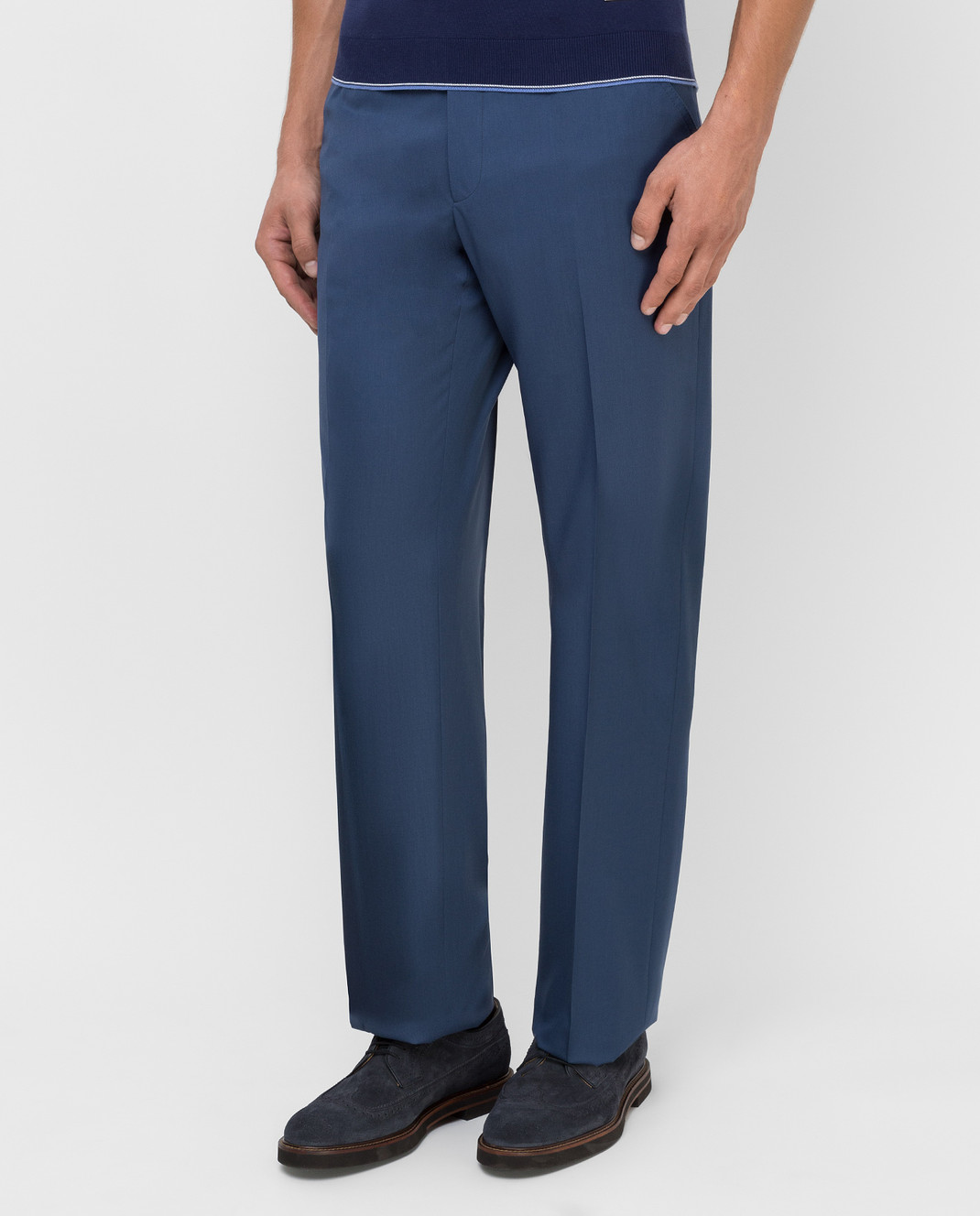 Castello d'Oro Синие брюки изображение 3