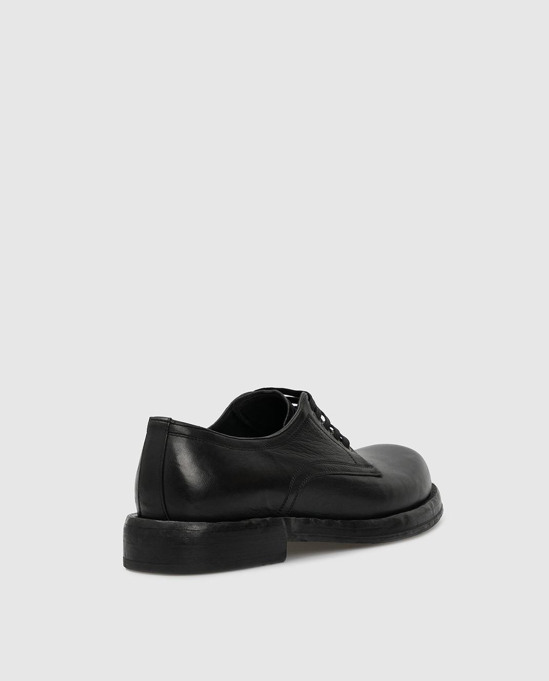 Dolce&Gabbana Черные кожаные дерби изображение 4