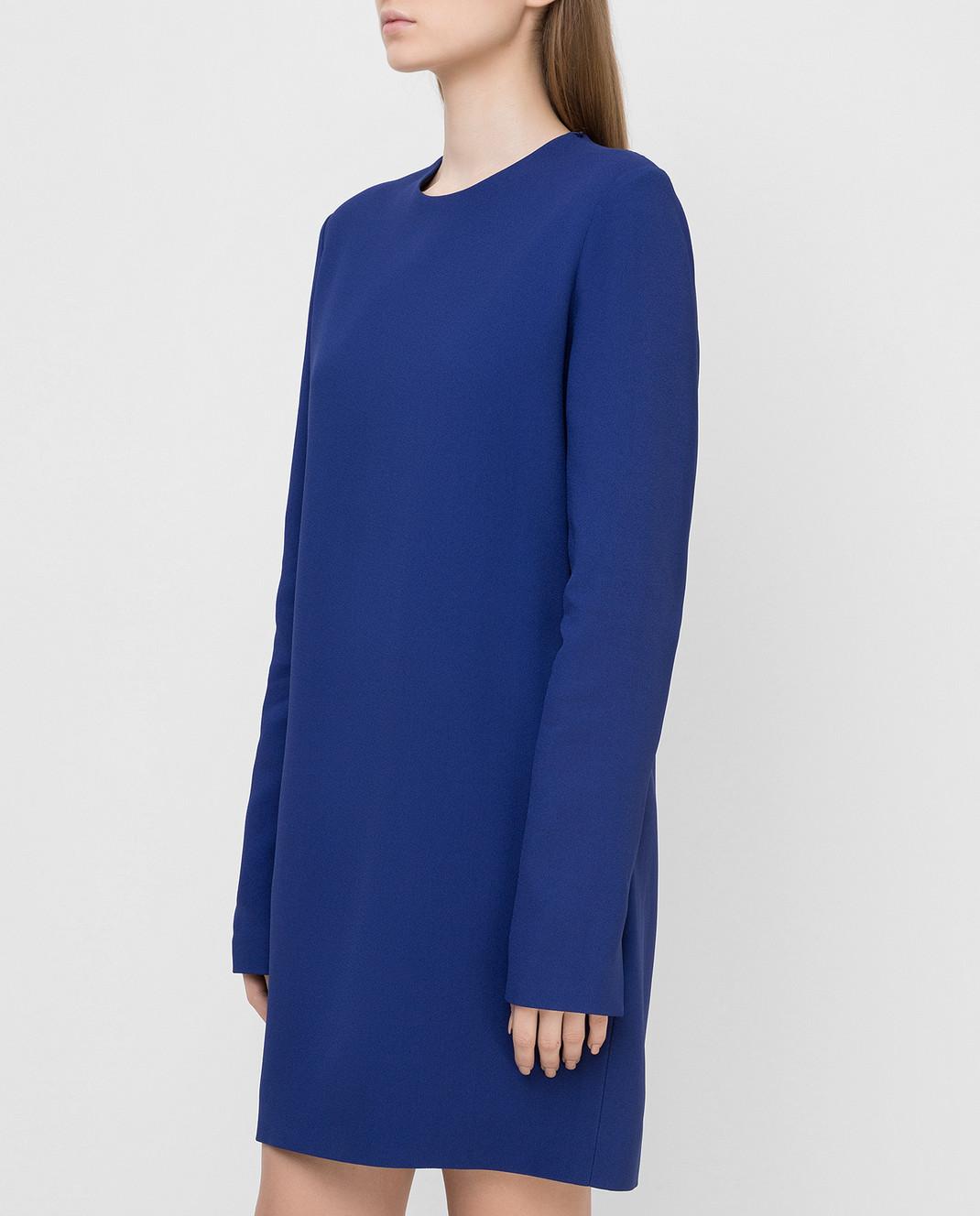 Victoria Beckham Синее платье 517 изображение 3