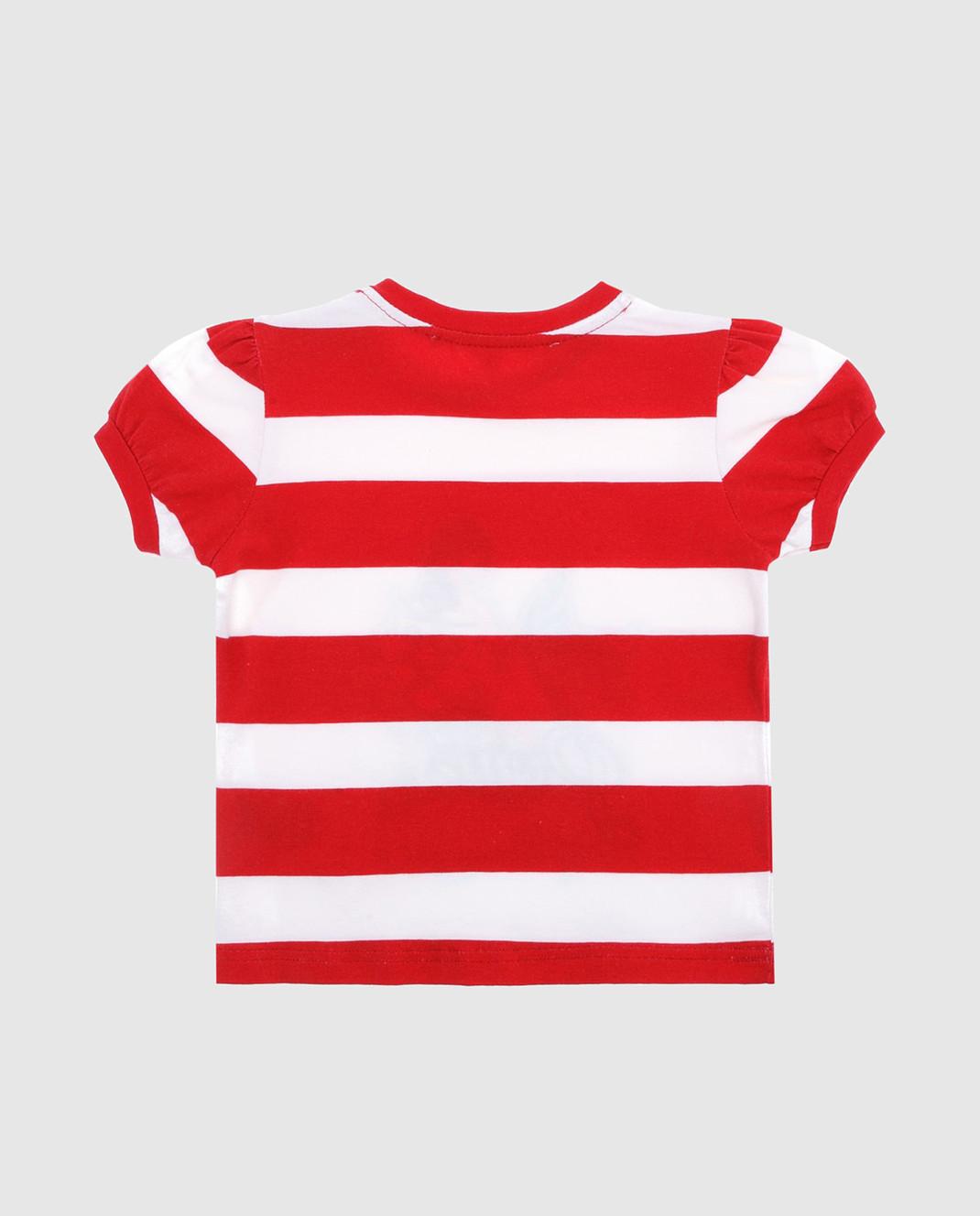 Philipp Plein Детская красная футболка CTK0004 изображение 2