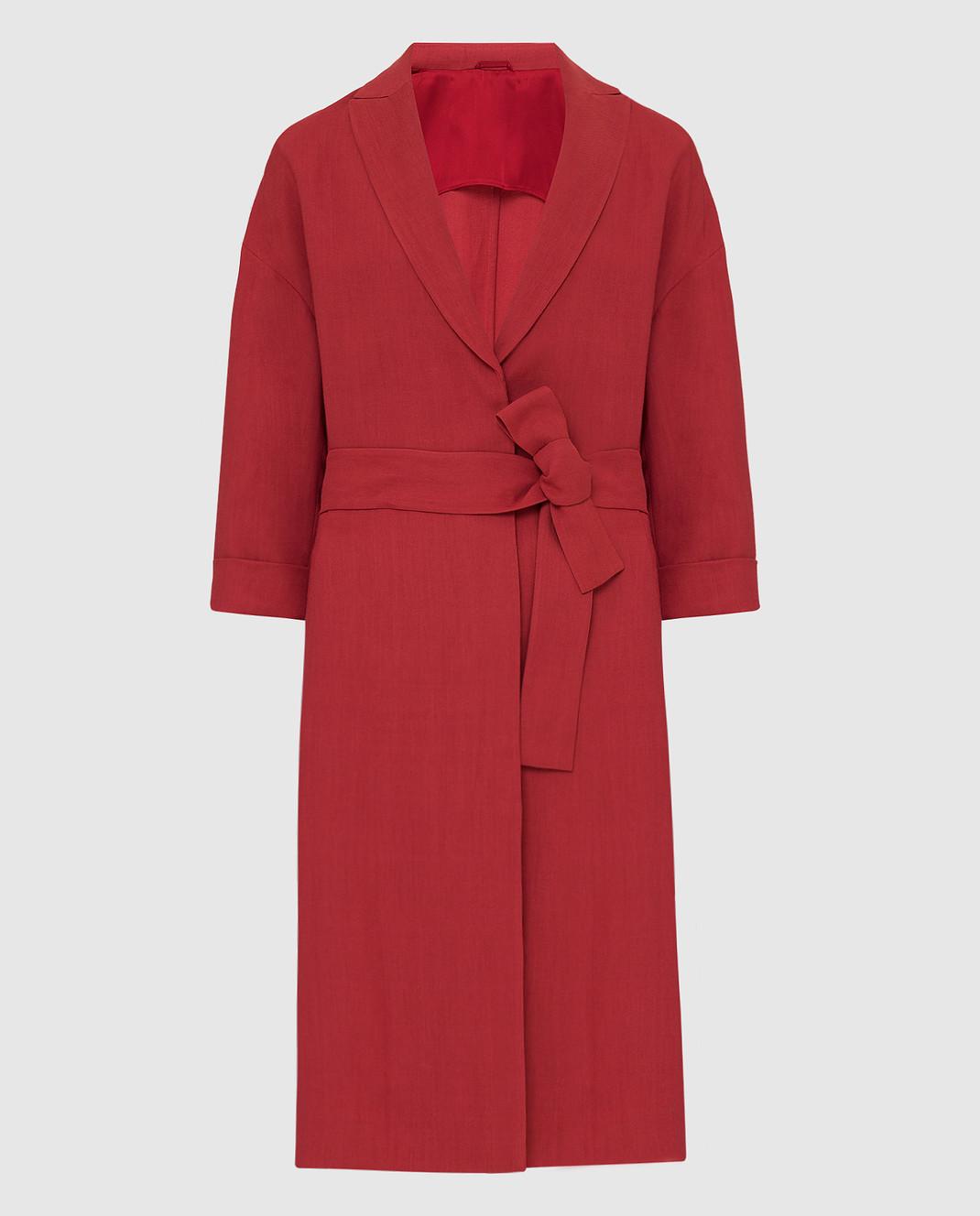 Brunello Cucinelli Красное пальто MH1269398