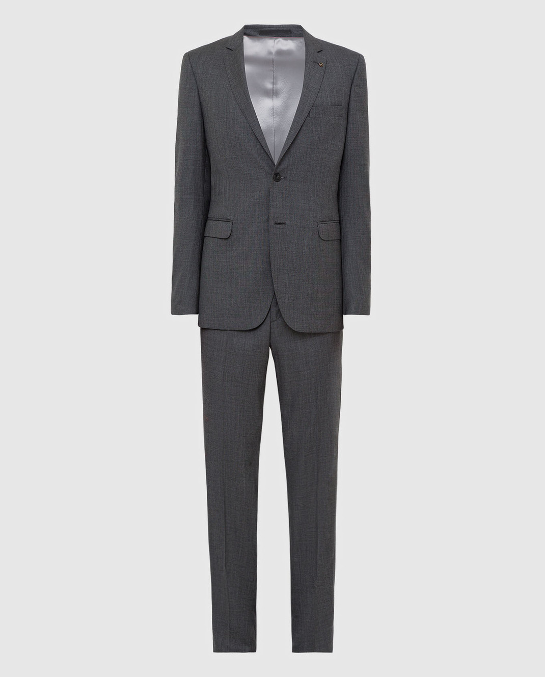 Florentino Темно-серый костюм из шерсти 219852960903