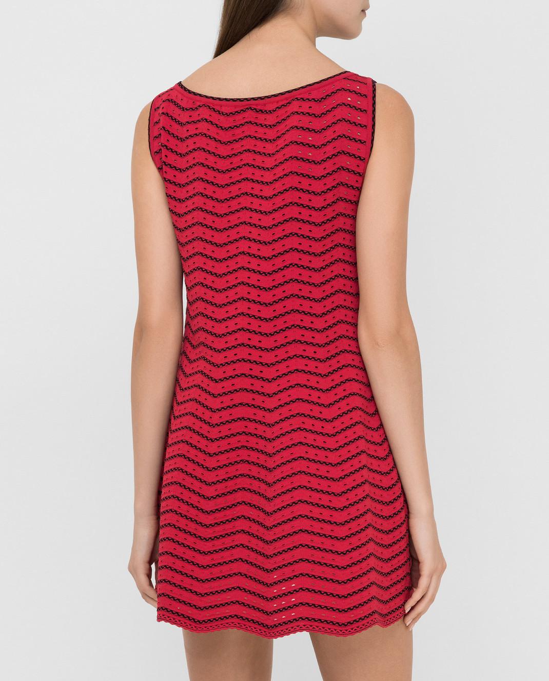 Azzedine Alaia Красное платье 6E9UC86RM224 изображение 4
