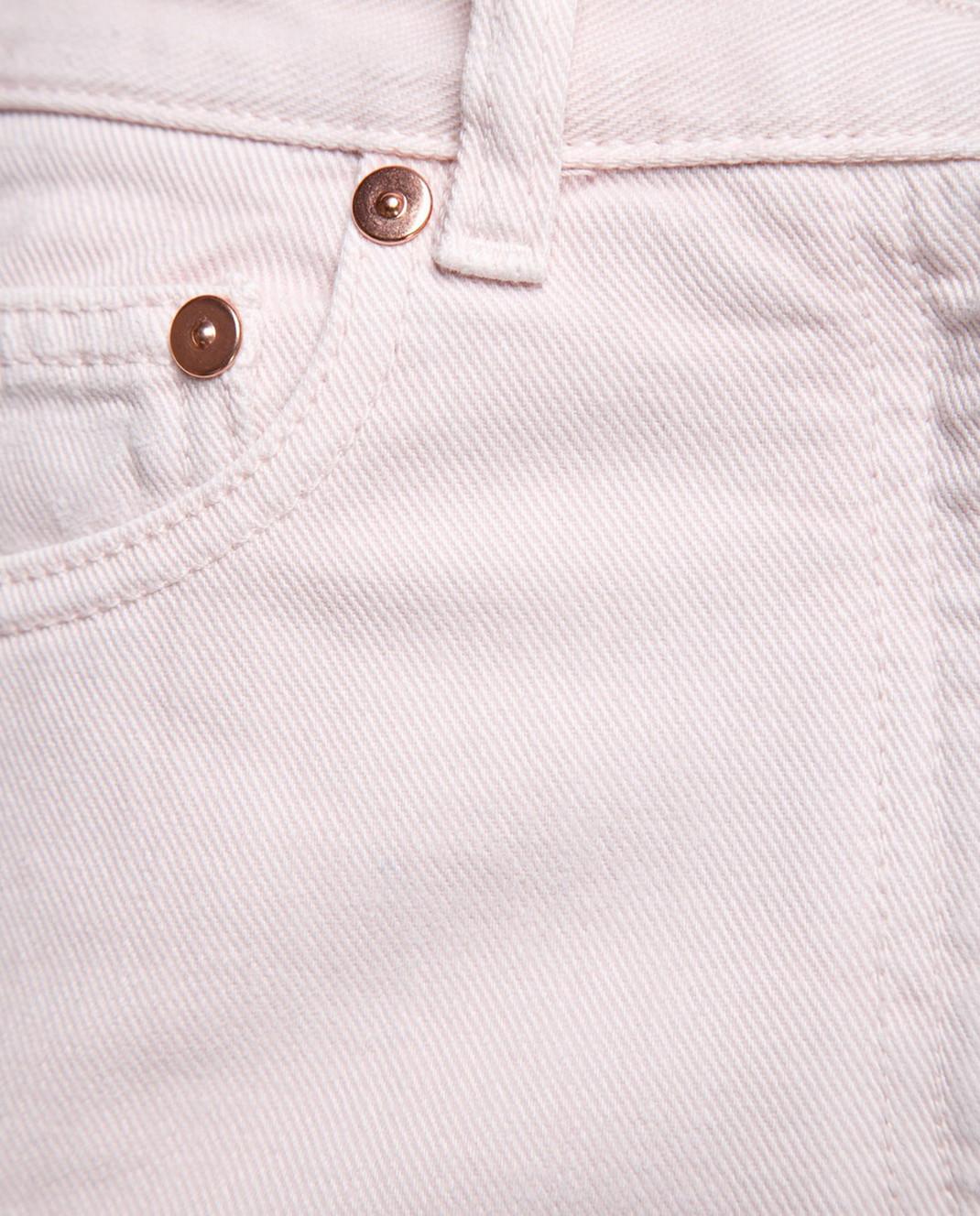 Valentino Пудровые джинсы PB0DD06J3WC изображение 6