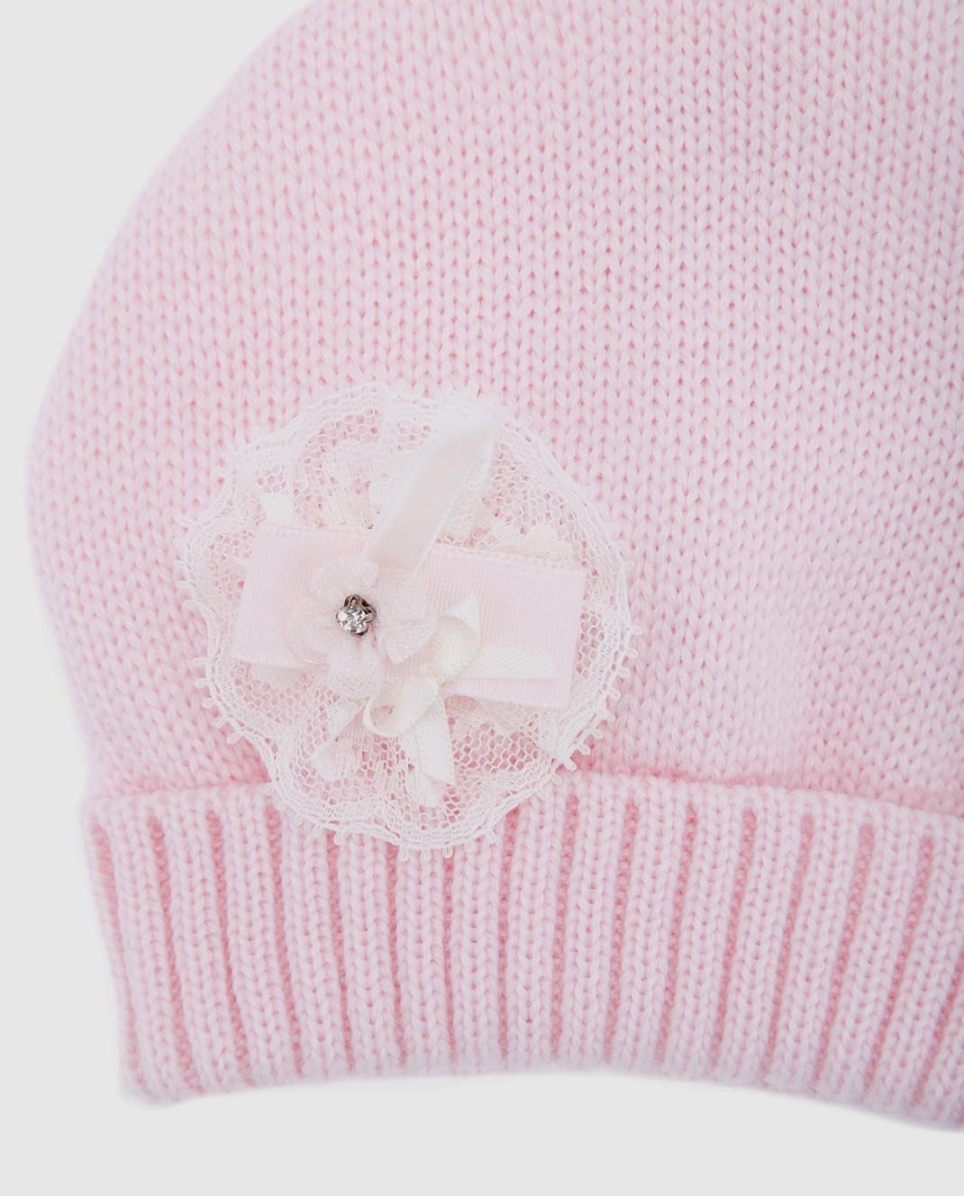 Catya Детская розовая шапка 721541 изображение 3