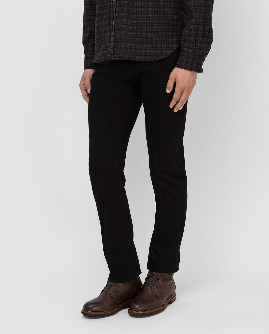 Stefano Ricci Черные джинсы изображение 3