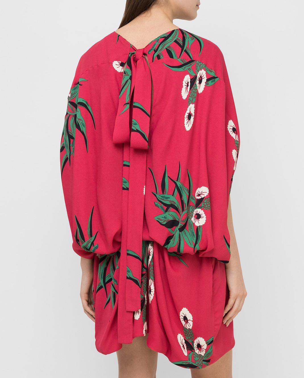 Marni Малиновое платье ABMAR17U00TV392 изображение 4