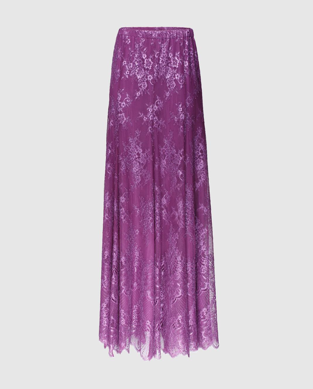 Philosophy di Lorenzo Serafini Фиолетовая юбка A0117