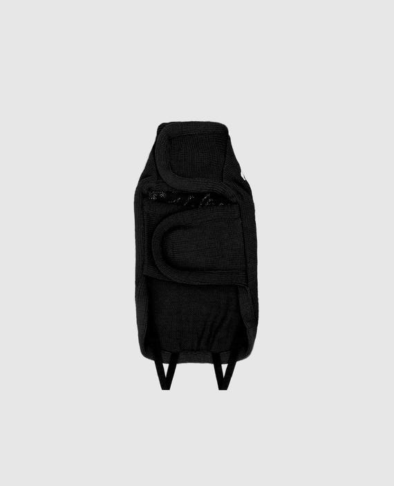 Черный костюм из шерсти для собак hover