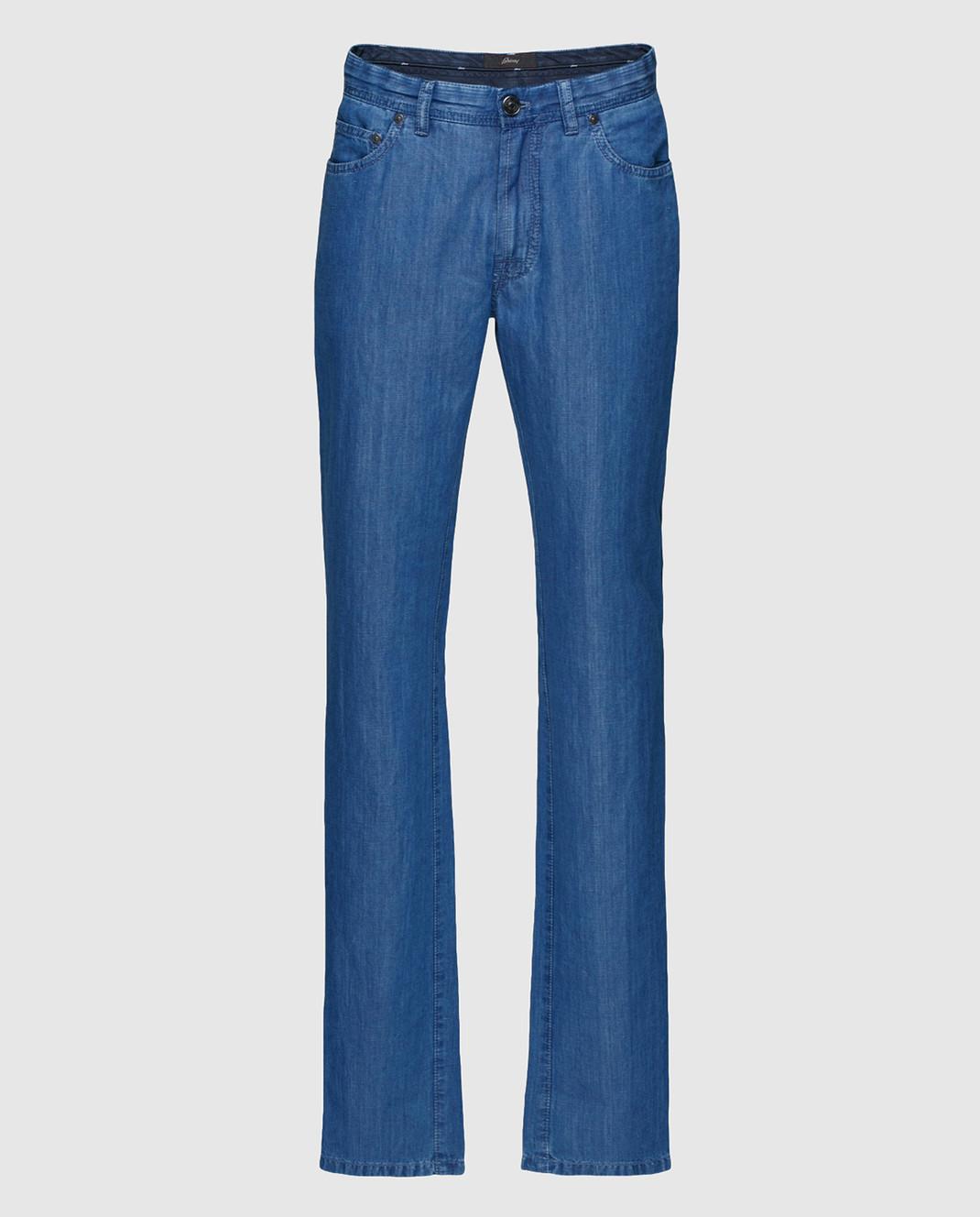Brioni Синие джинсы SPL40MP5D14