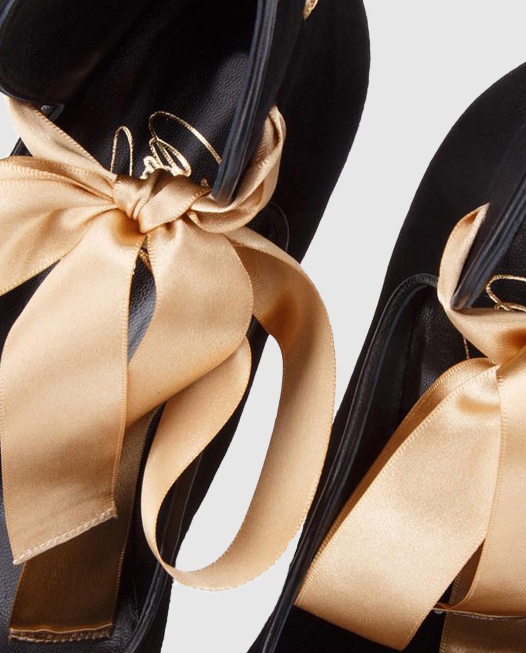 Cerasella Черные замшевые туфли MELISSA MELISSA изображение 5