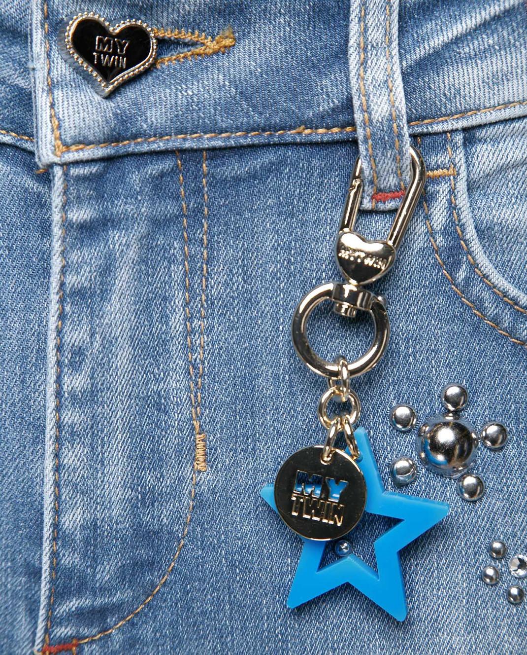 Голубые джинсы Twin set My twin JS82WE — Symbol