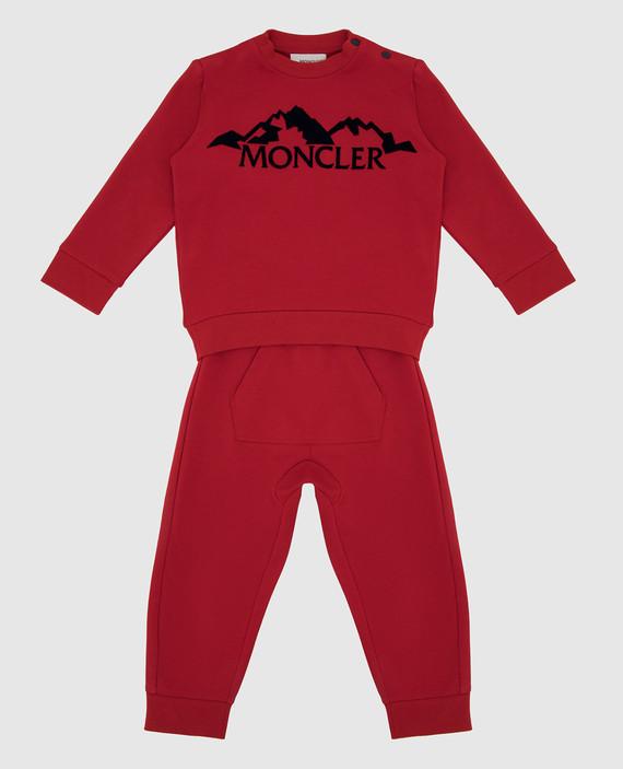 Детский красный костюм