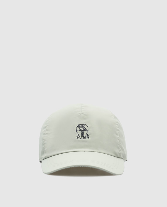 Светло-серая кепка
