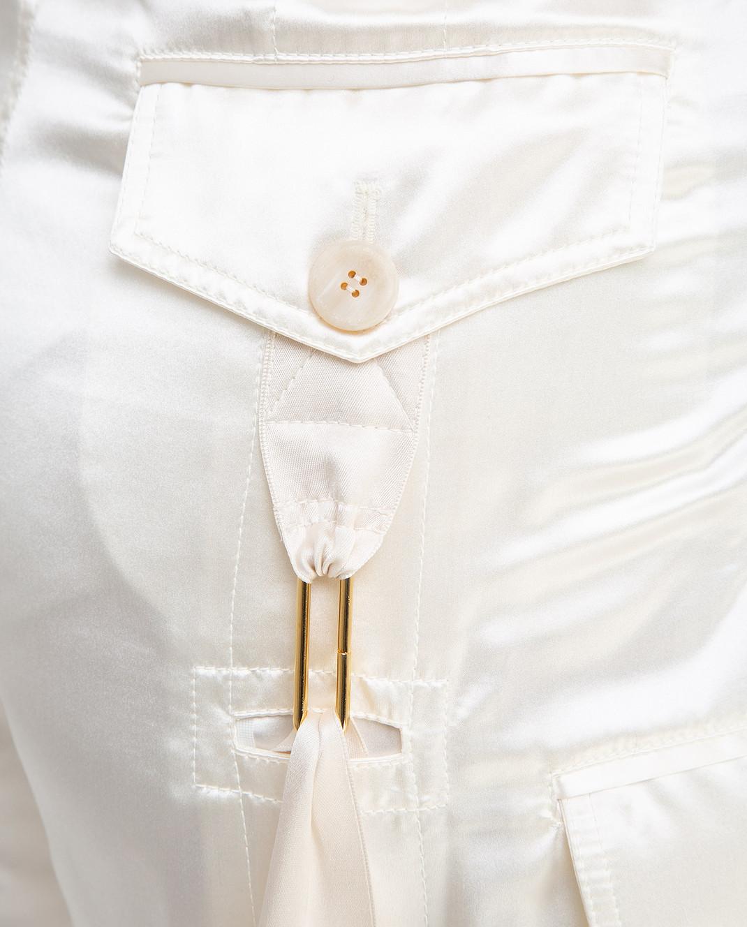 Balenciaga Светло-бежевые брюки изображение 5