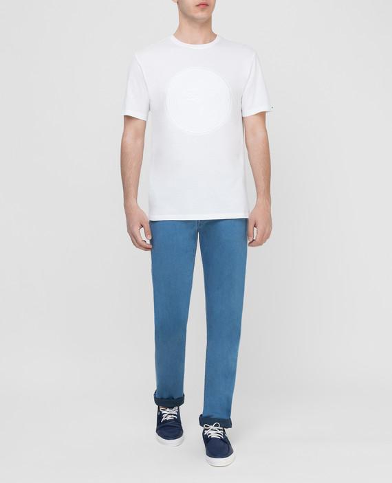 Голубые джинсы hover