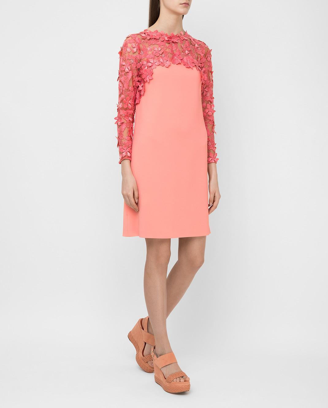 Giamba Коралловое платье PG5270 изображение 2