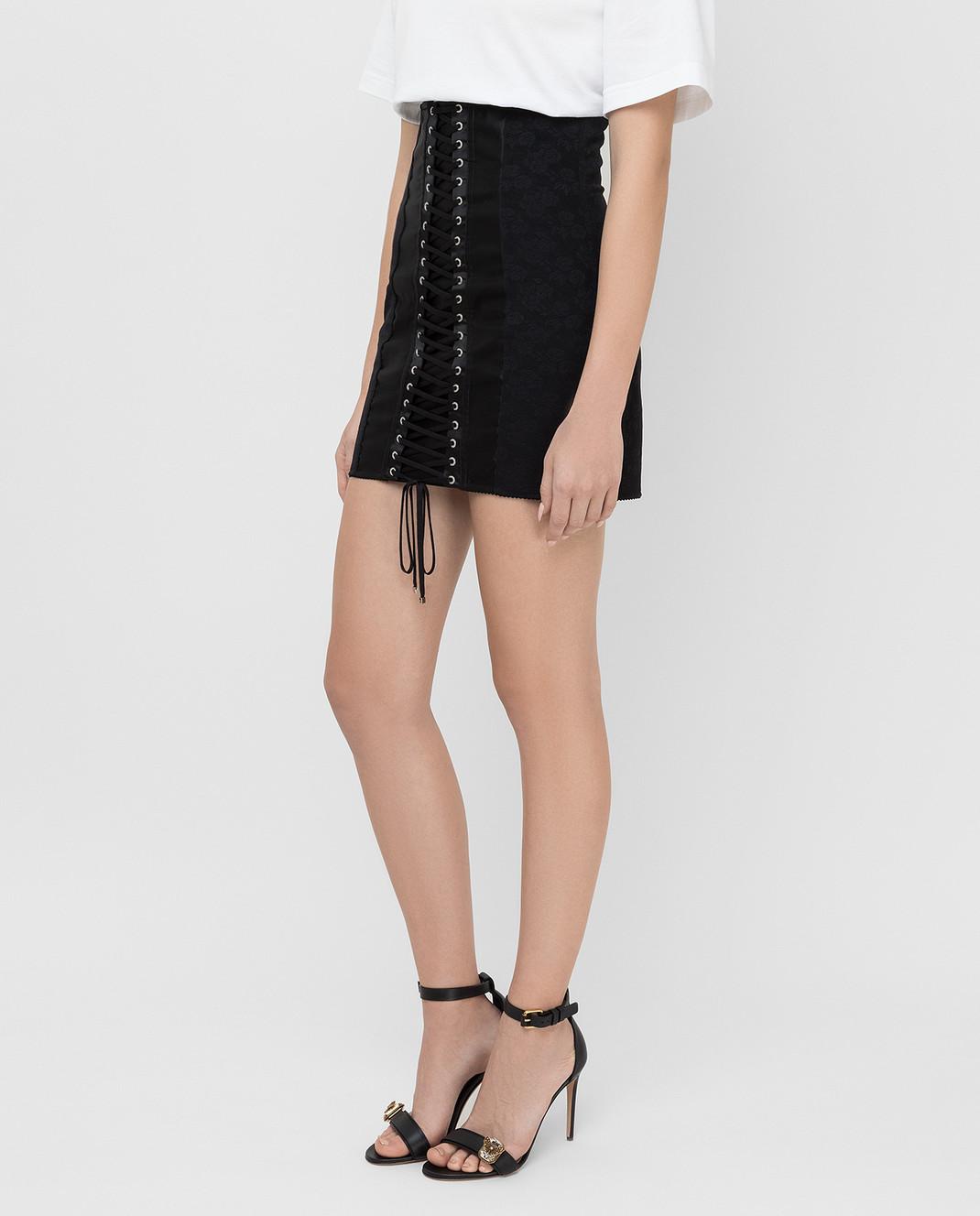 Dolce&Gabbana Черная юбка изображение 3