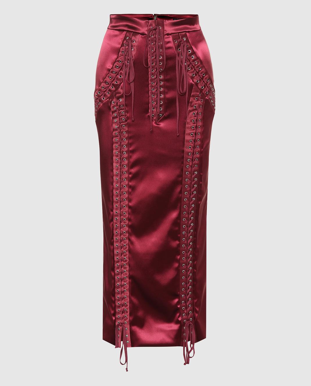 Dolce&Gabbana Красная юбка F4BCNTFURAD