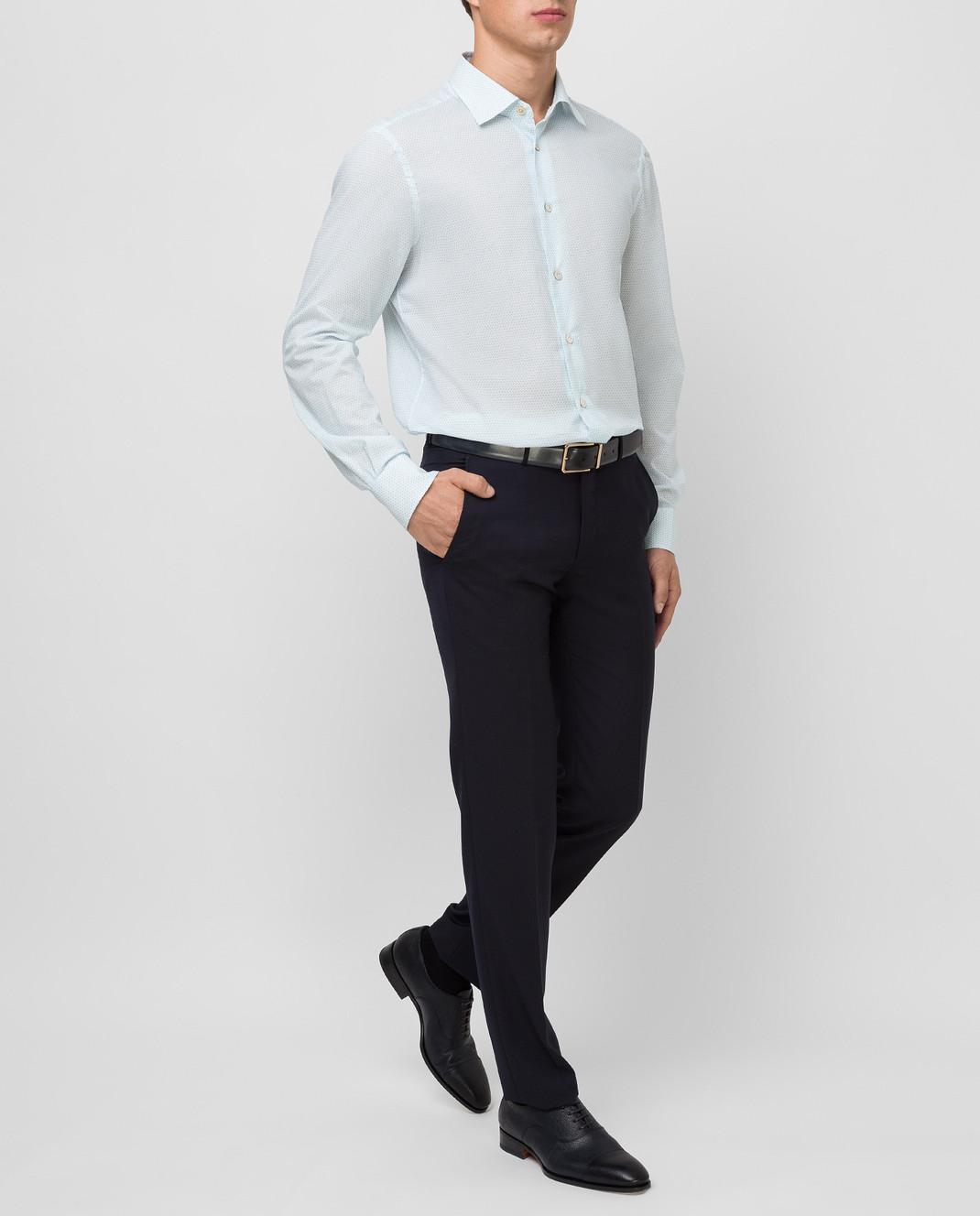 Kiton Белая рубашка изображение 2