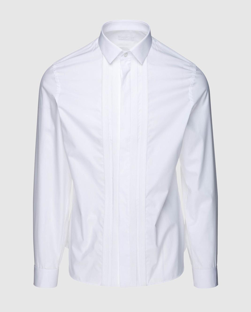 Prada Белая рубашка UCN158