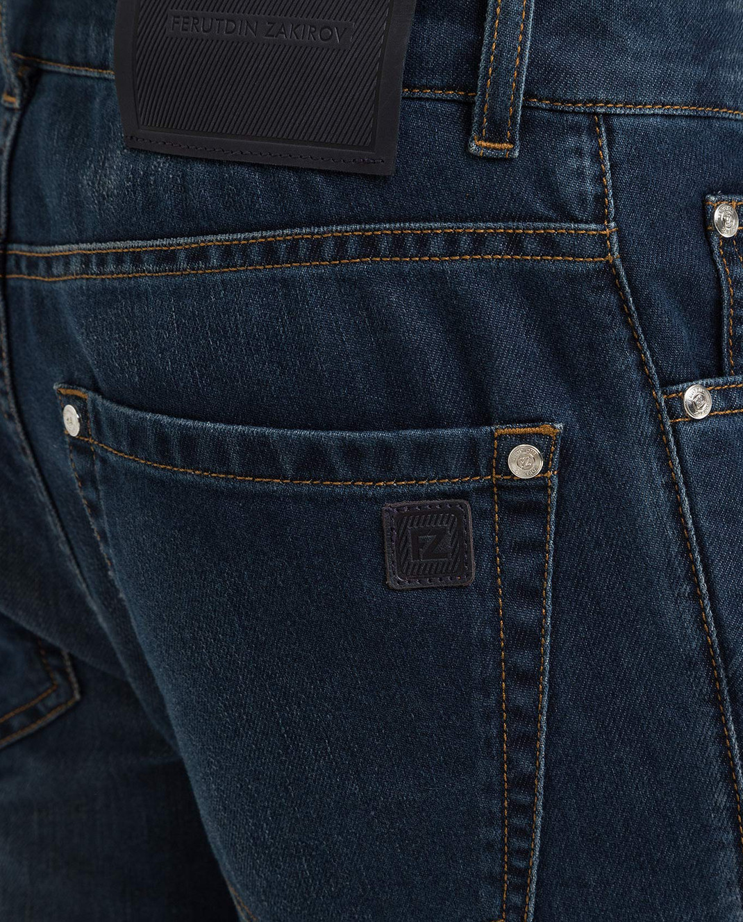 Ferutdin Zakirov Темно-синие джинсы FZA4900JN4000 изображение 5