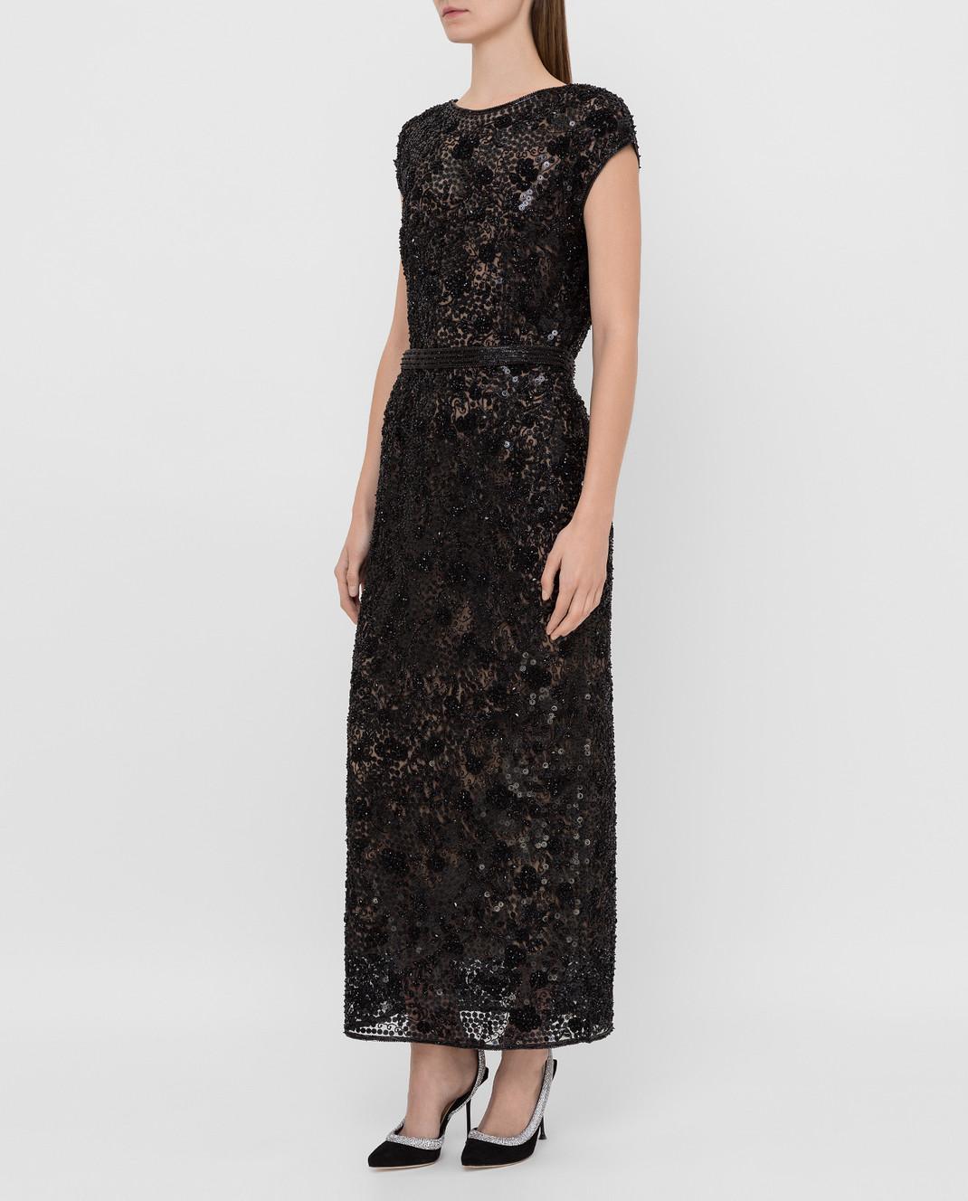 Alexander Terekhov Черное платье изображение 3