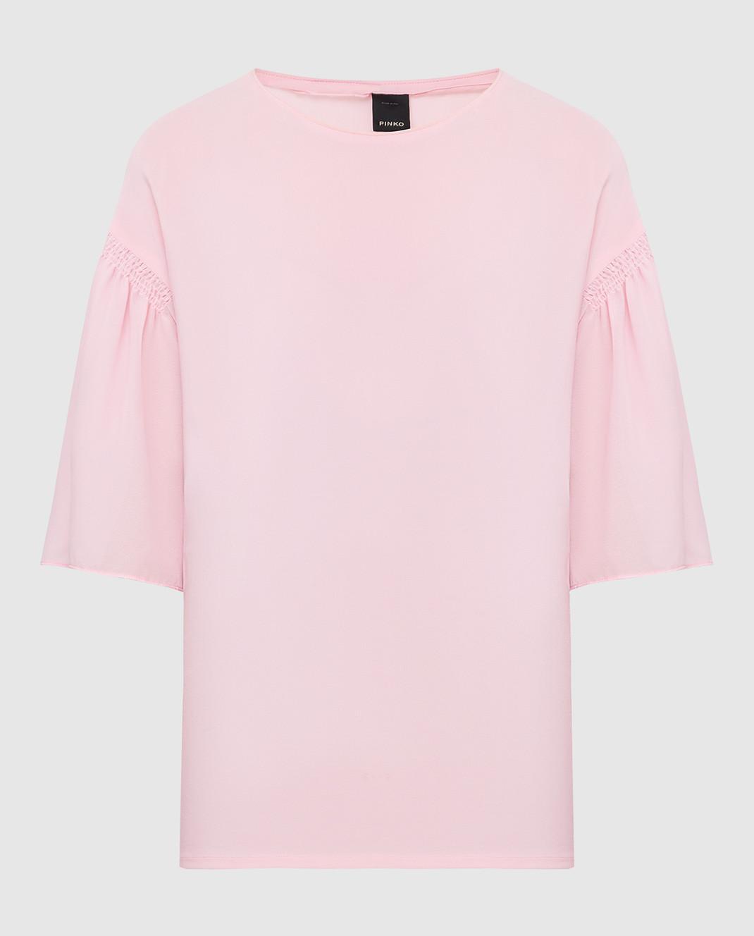 Pinko Розовая блуза 1B11QP