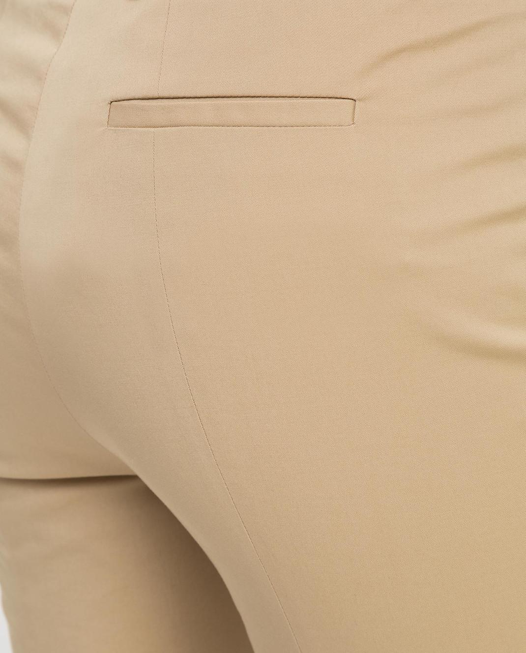 Loro Piana Бежевые брюки F1FAI1447 изображение 5