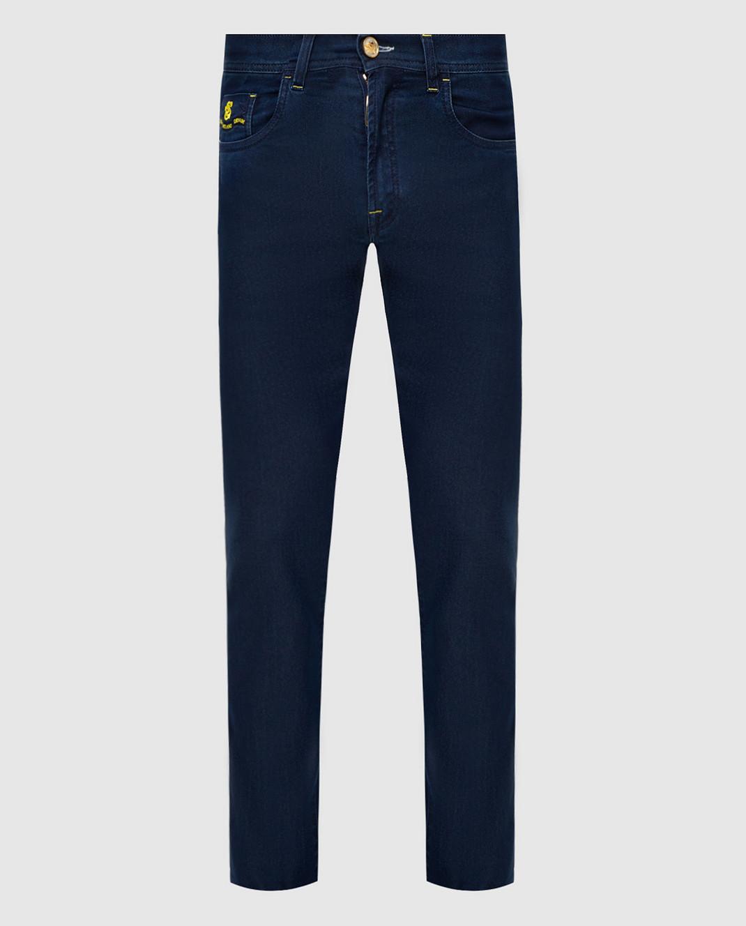 Scissor Scriptor Темно-синие джинсы изображение 1